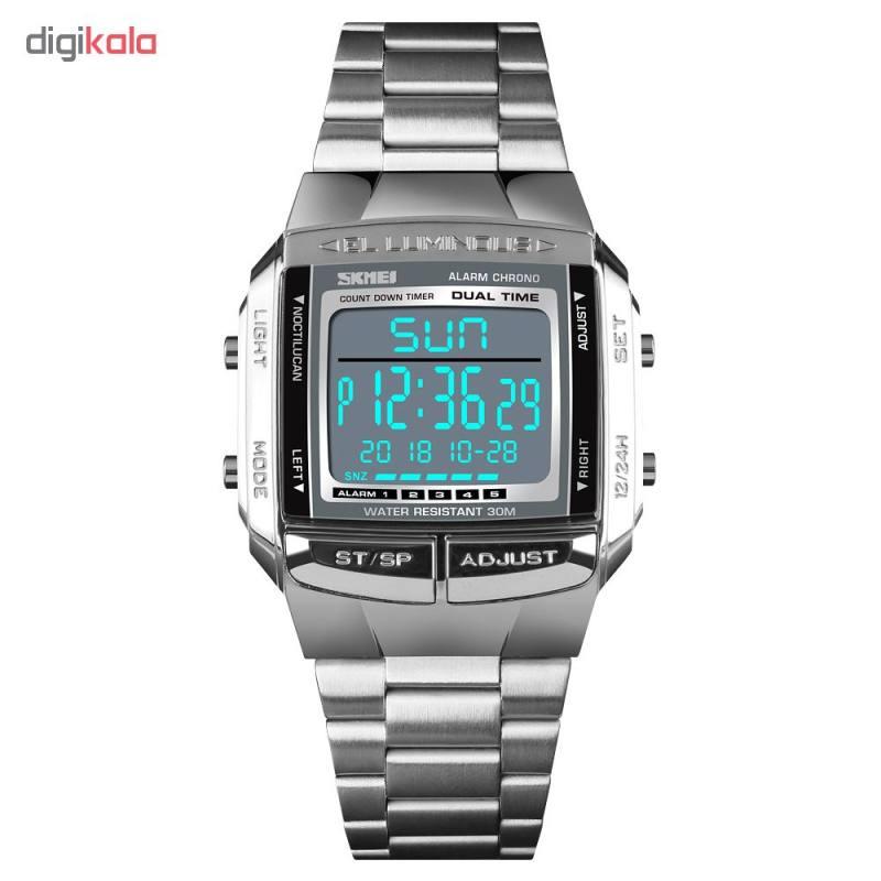 ساعت مچی دیجیتال مردانه اسکمی مدل 1381S