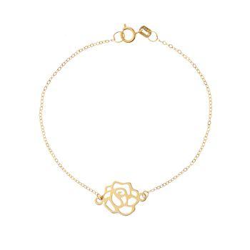 دستبند طلا 18 عیار زنانه مایا ماهک مدل MB0958