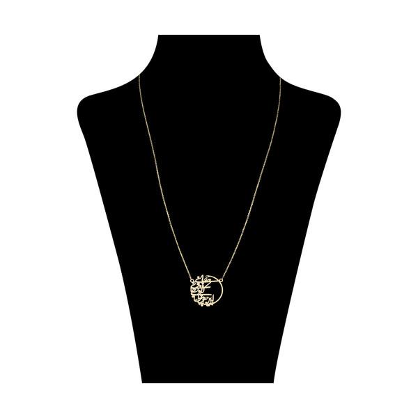 گردنبند طلا 18 عیار زنانه زرمان مدل ZMM0947