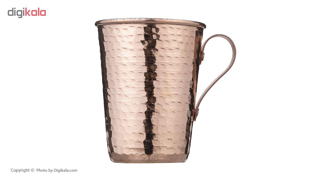 copper glass, ZANJAN COPPER. Code 002