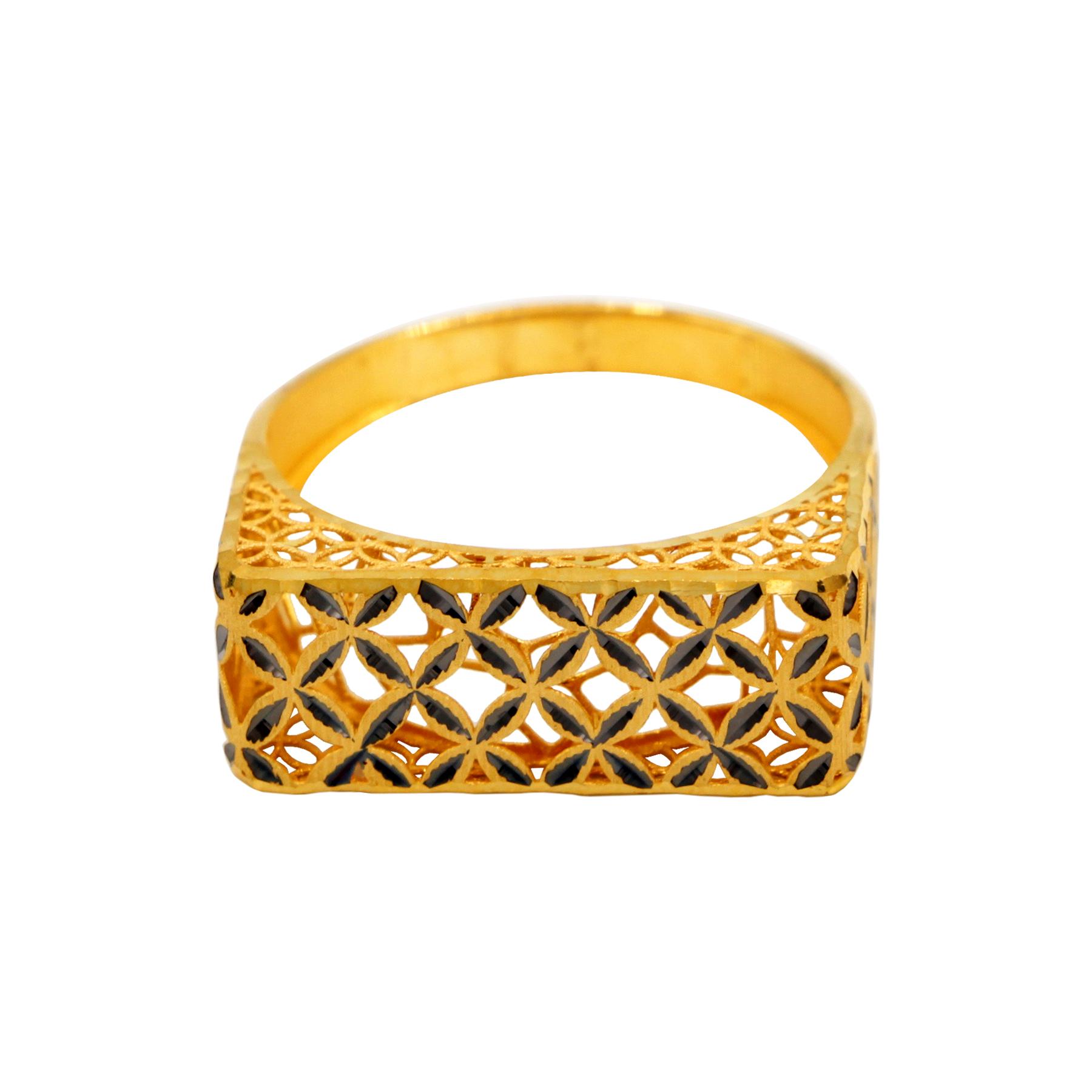 انگشتر طلا 18 عیار زنانه دارینا کد 0611.2.7010