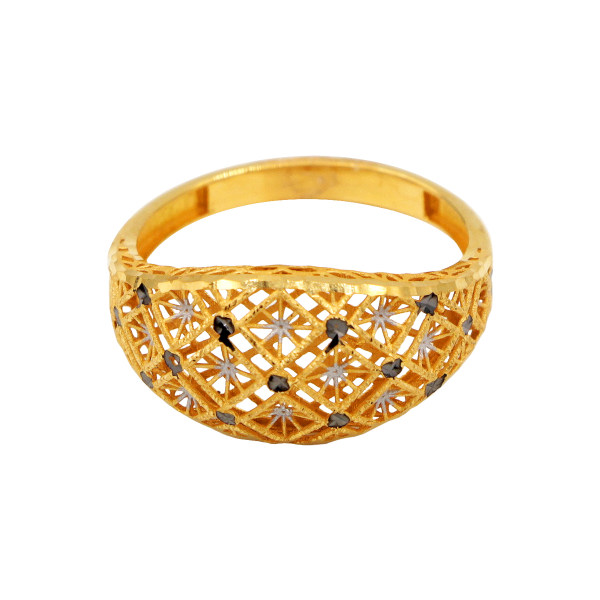 انگشتر طلا 18 عیار زنانه دارینا کد 0611.1.02.7013