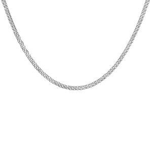 زنجیر نقره زنانه اقلیمه کد ZN21