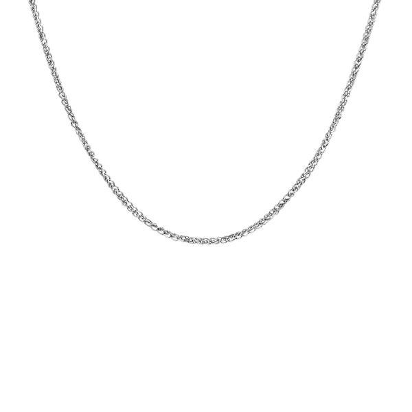 زنجیر نقره زنانه اقلیمه کد ZN22