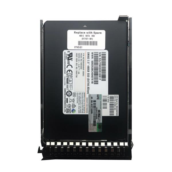 اس اس دی اینترنال اچ پی ای مدل MK0480GFDKR ظرفیت 480 گیگابایت