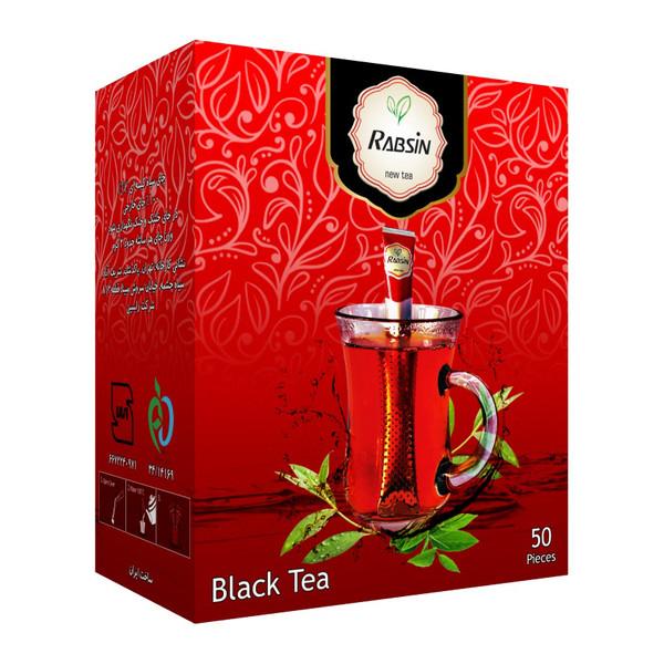 چای سیاه کلاسیک رابسین بسته 50 عددی