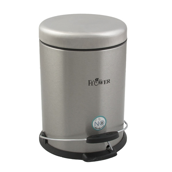 سطل زباله پدالی ردفلاور مدل flrs003 ظرفیت 3 لیتر