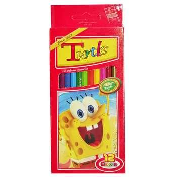 مداد رنگی 12 رنگ لاک پشت ایرانی کد 04