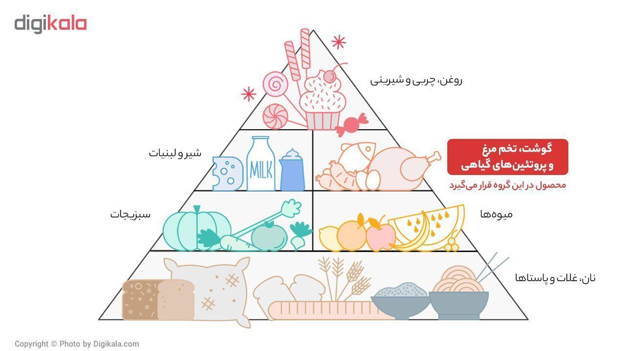 گوشت خورشتی گوساله داخلی کوروش پروتئین -  800 گرم main 1 1