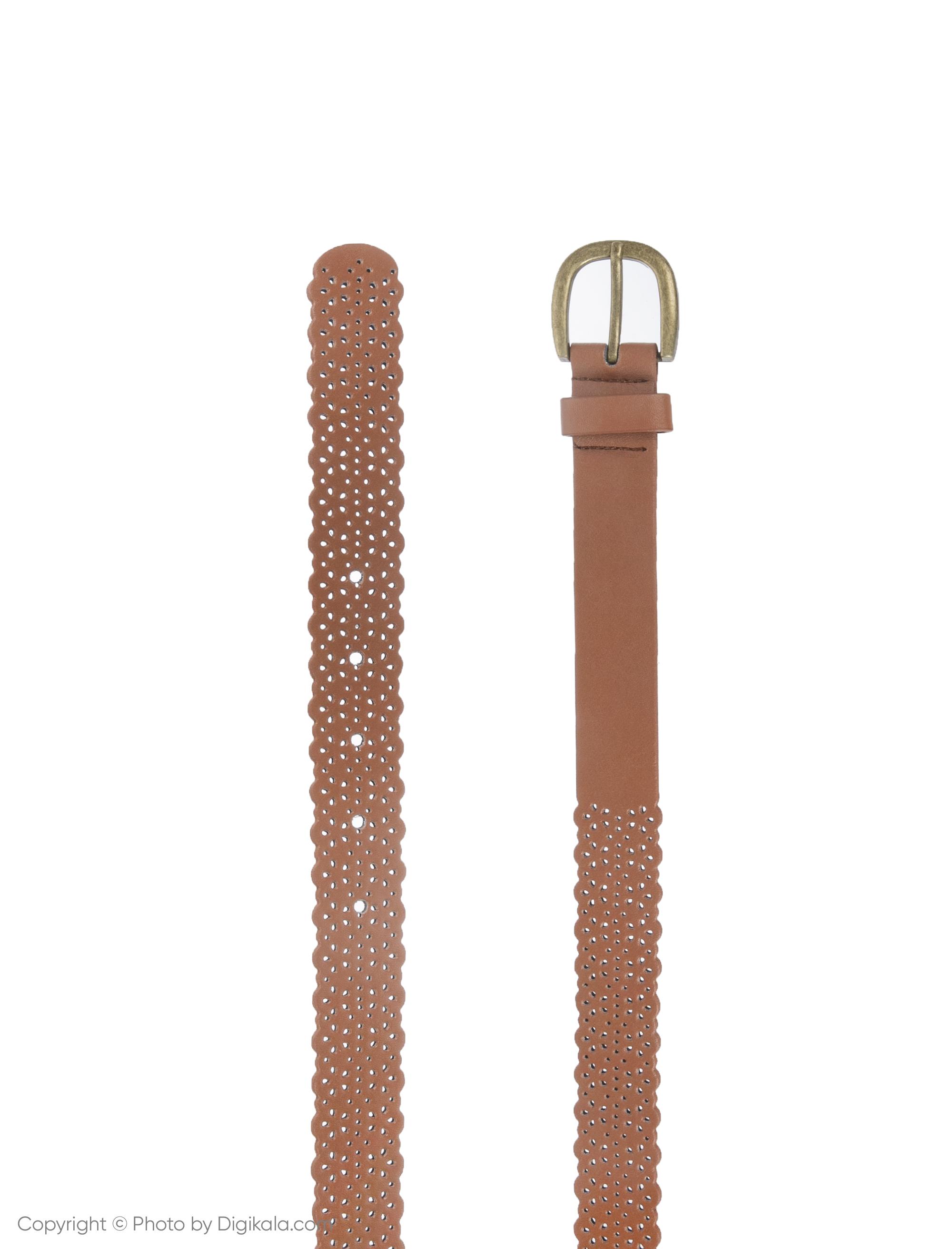 کمربند زنانه کالینز مدل  CL1032145-Brown