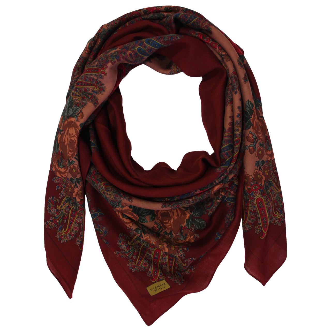 روسری زنانه برند ویسمارا مدل ملکه کد ۰۰۱۰ thumb