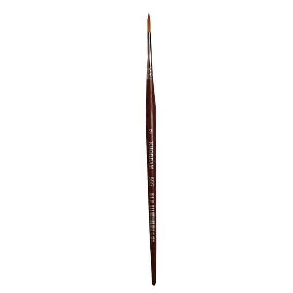 قلم مو گرد خرم شماره 2 کد 555