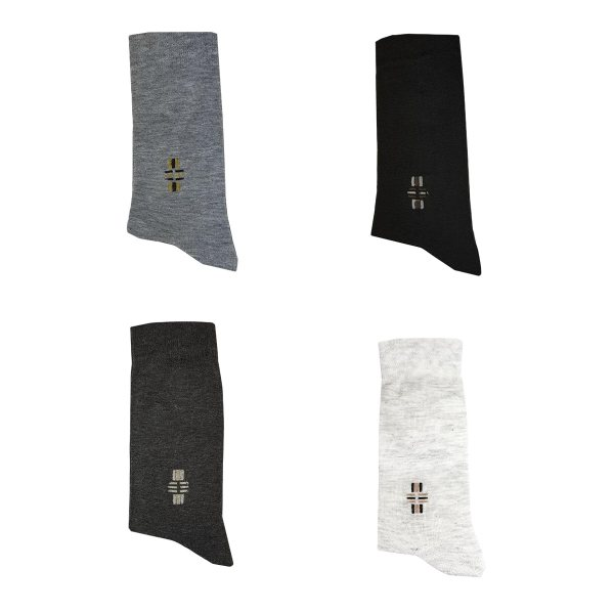 جوراب مردانه پاتو مدل کلاسیک مجموعه 4 عددی