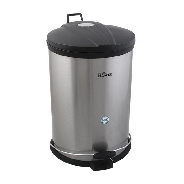 سطل زباله پدالی ردفلاور کد Flsp20 ظرفیت 20 لیتر