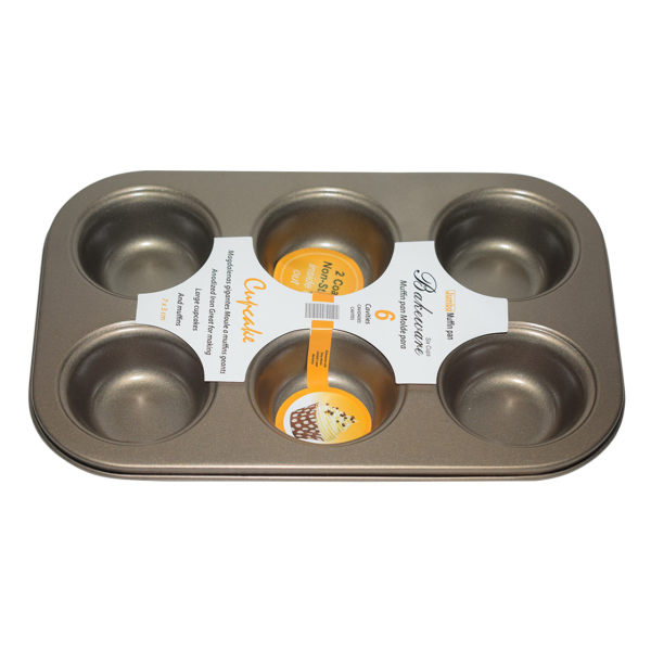 قالب کیک  جامبو مدل 6 _Cups کد008