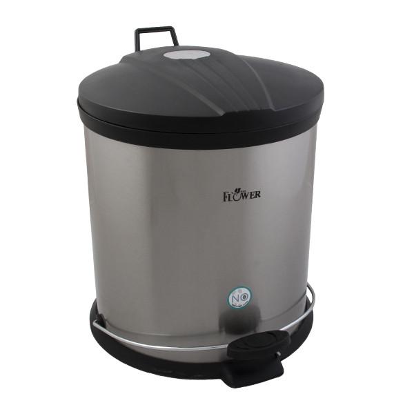 سطل زباله پدالی ردفلاور مدل flrp015 ظرفیت 15 لیتر