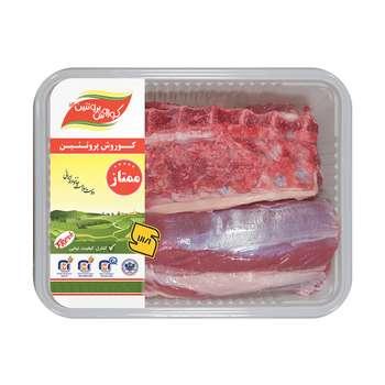 راسته با استخوان گوسفندی کوروش پروتئین البرز مقدار 1 کیلوگرم - ارز نیمایی