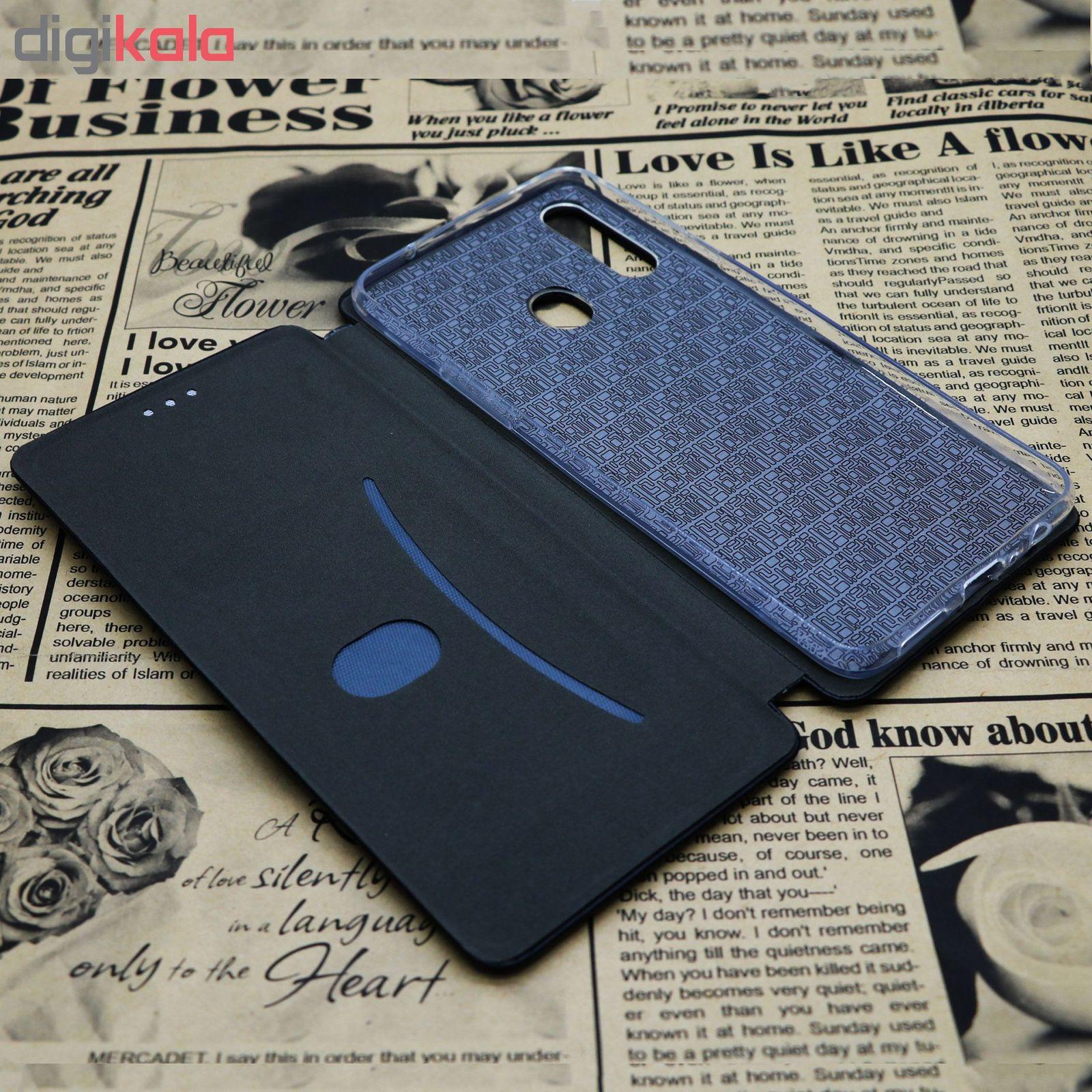 کیف کلاسوری طرح Wallet مدل Wa-001 مناسب برای گوشی موبایل سامسونگ Galaxy A20s