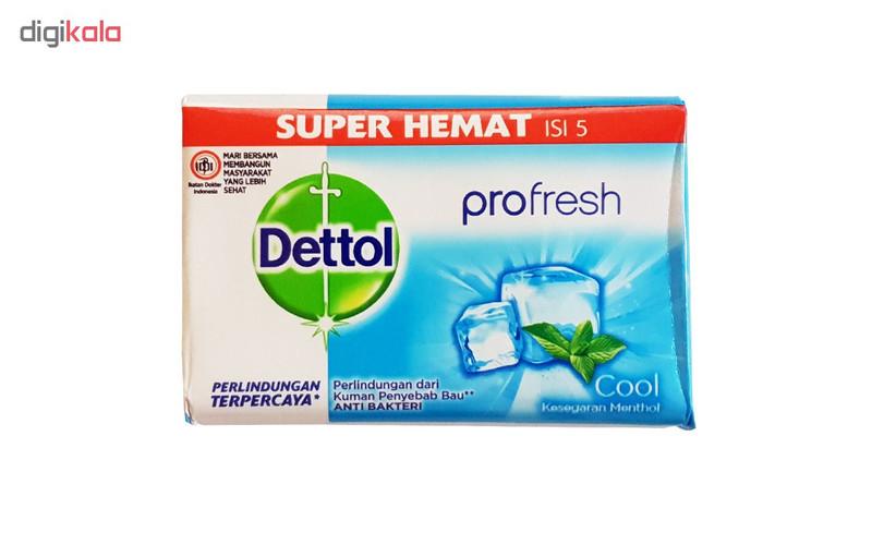 صابون ضد باکتری دتول مدل Pro Fresh وزن 105 گرم