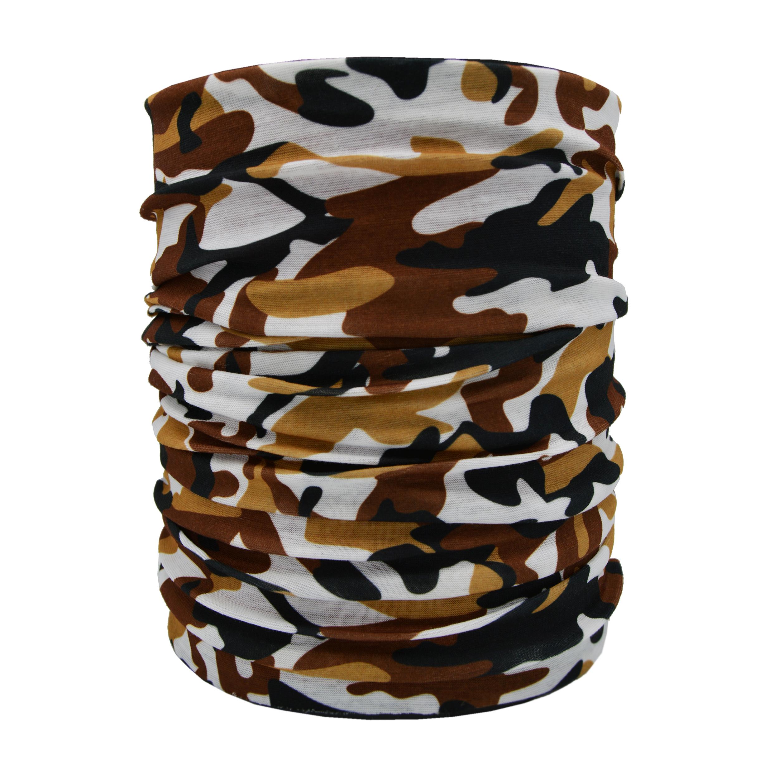 دستمال سر و گردن طرح چریکی کد CH1003