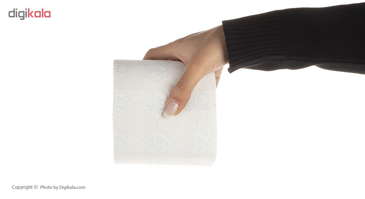 دستمال توالت راشین مدل R4 بسته 2 عددی