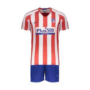 ست پیراهن و شورت ورزشی پسرانه پانیل طرح تیم اتلتیکو مادرید کد 23060