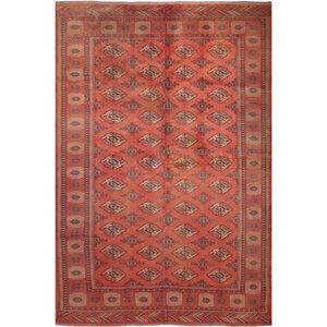 فرش قدیمی دستبافت شش متری فرش هريس کد 100356