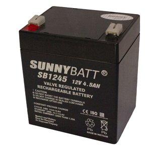 باتری یو پی اس 12 ولت 4.5 آمپر ساعت سانی بت مدل SB1245