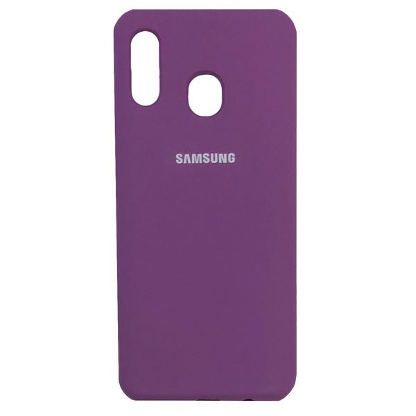 کاور مدل SIL-002 مناسب برای گوشی موبایل سامسونگ Galaxy A20/A30