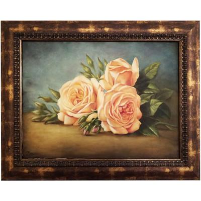 Photo of تابلو نقاشی رنگ روغن طرح گل