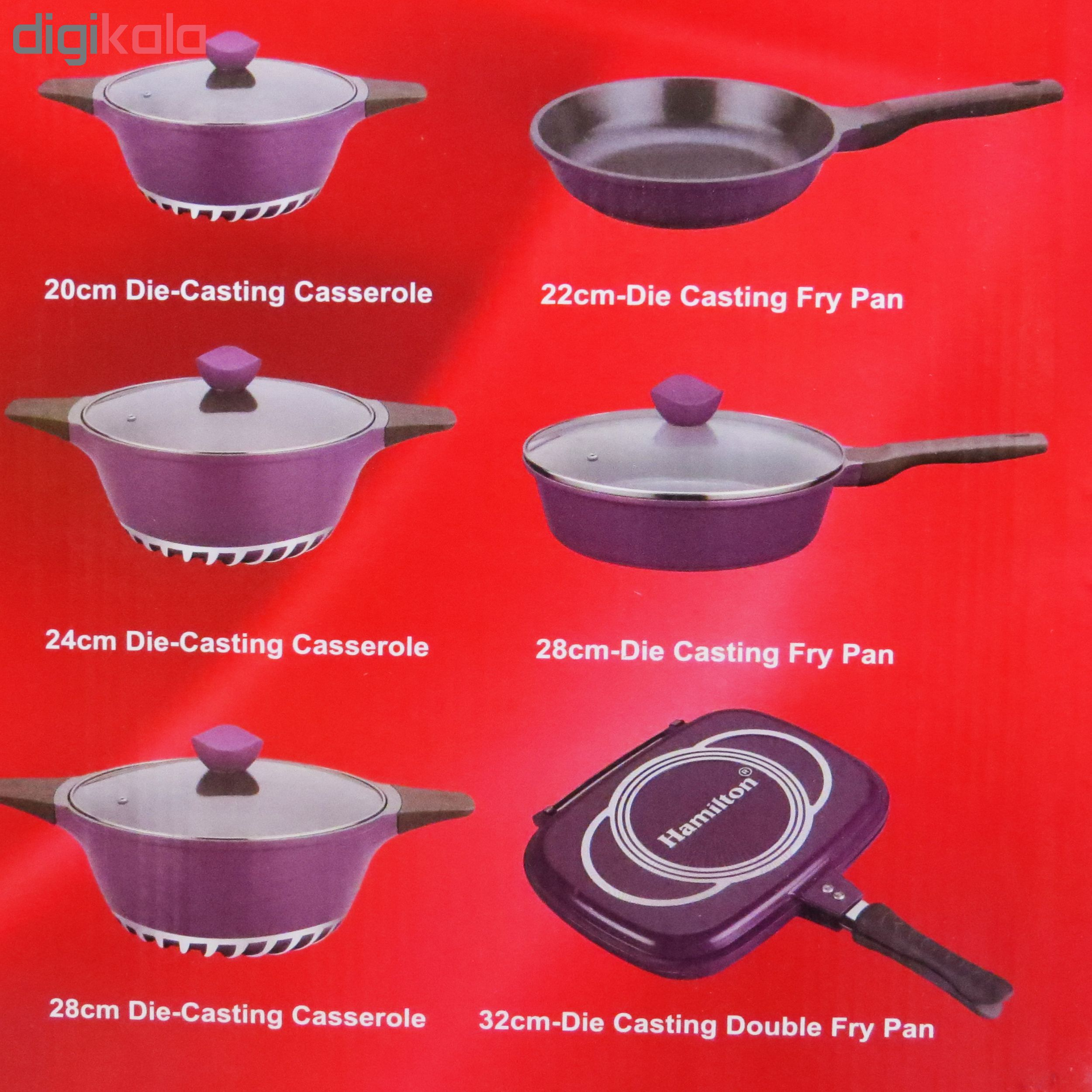 سرویس پخت و پز 19 پارچه همیلتون کد HS19