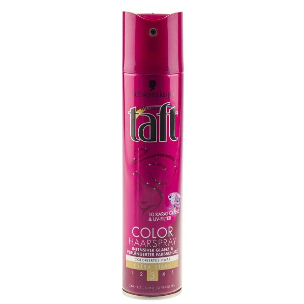 اسپری نگهدارنده حالت مو تافت مدل Color Haarspray حجم 250 میلی لیتر
