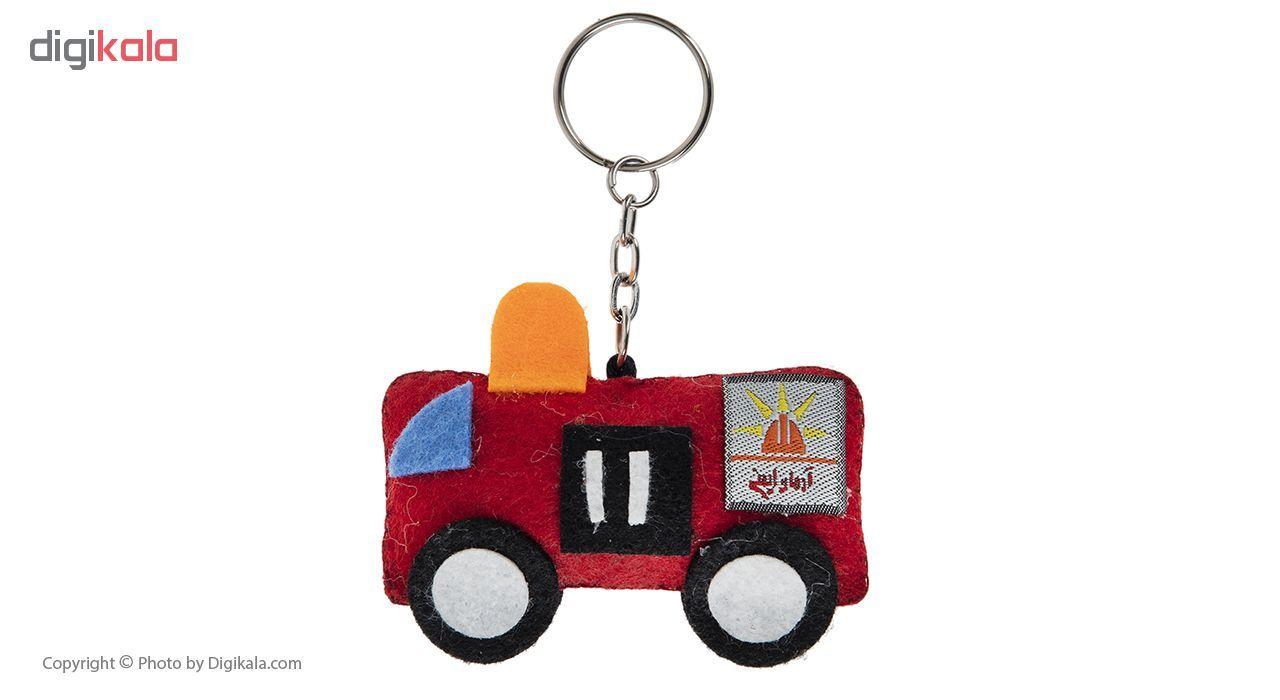 آویز عروسکی آرمان ایمنی طرح ماشین آتش نشانی