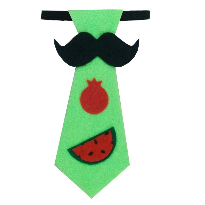 کراوات پسرانه طرح هندوانه مدل 101