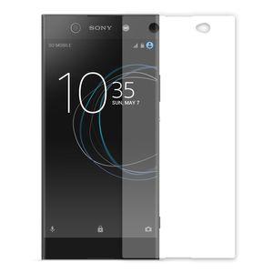 محافظ صفحه نمایش شیشه ای تمپرد مدل Full Cover مناسب برای گوشی موبایل سونی Xperia XA1 Ultra