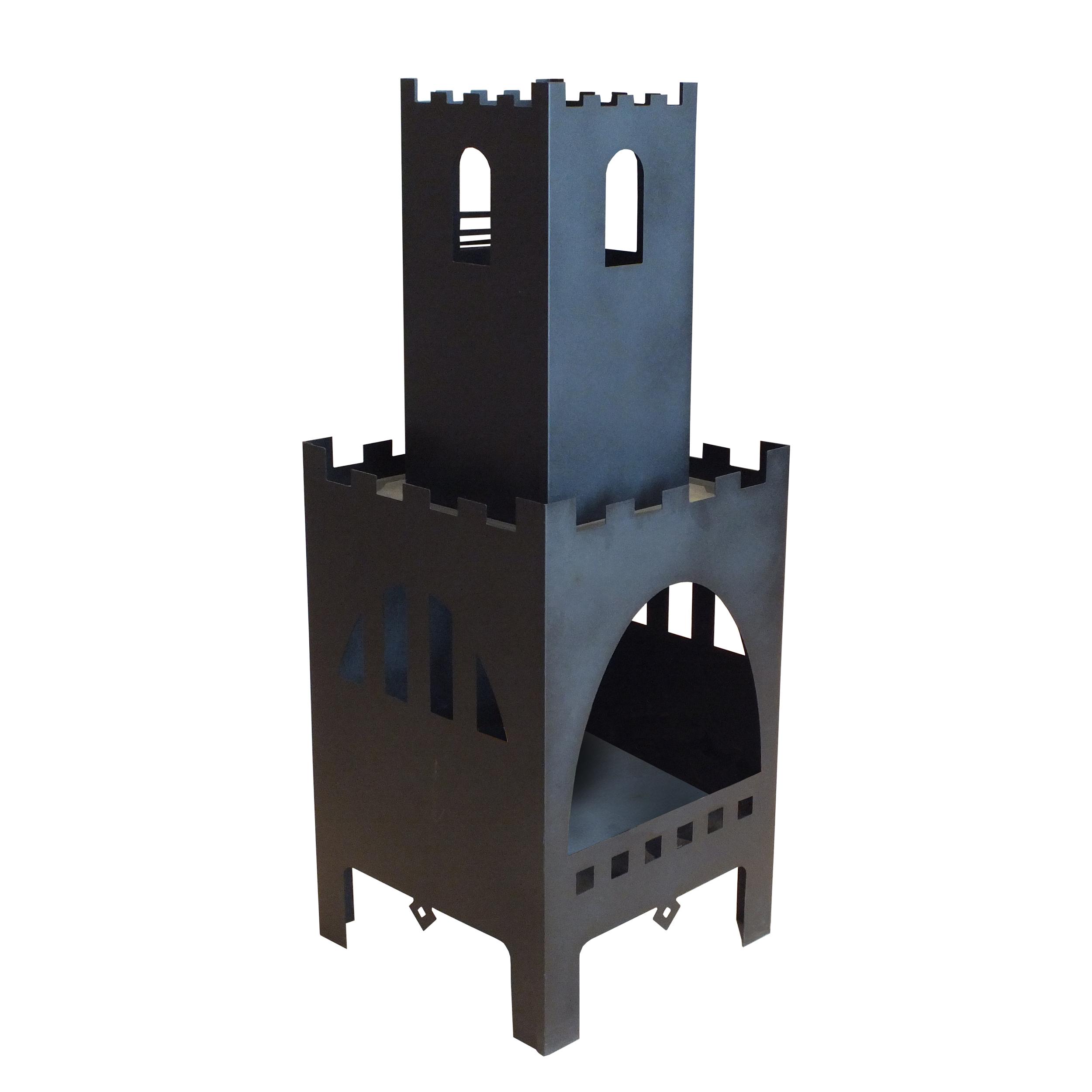 آتشدان مدل قلعه