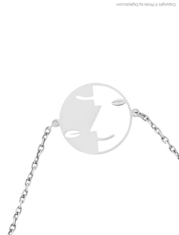 دستبند نقره زنانه نیوانی مدل DA007