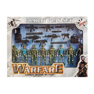 ست اسباب بازی طرح سرباز ارتشی کد05