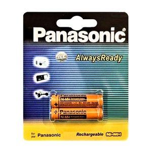 باتری نیم قلمی تلفن بی سیم پاناسونیک مدل HHR830 بسته دو عددی