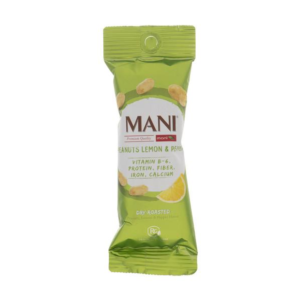 بادام زمینی لیمو فلفلی مانی وزن 30 گرم