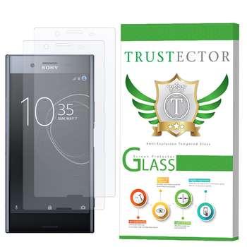 محافظ صفحه نمایش تراستکتور مدل GLS مناسب برای گوشی موبایل سونی Xperia XZ Premium بسته 2 عددی