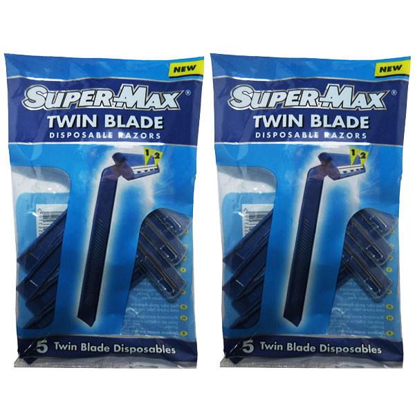 خود تراش سوپرمکس مدل TWIN مجموعه 2 عددی