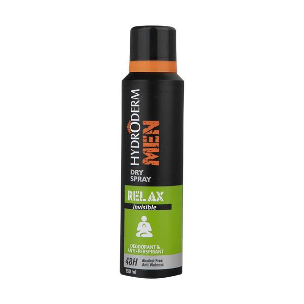 اسپری ضد تعریق مردانه هیدرودرم مدل Relax حجم 150 میلی لیتر