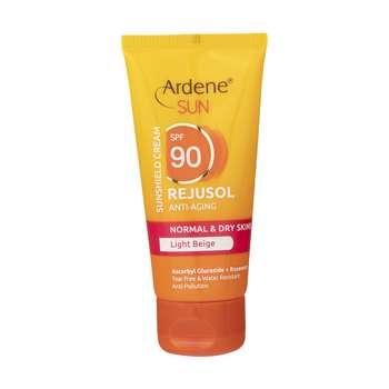 کرم ضد آفتاب رنگی آردن مدل Light Beige مقدار 50 گرم