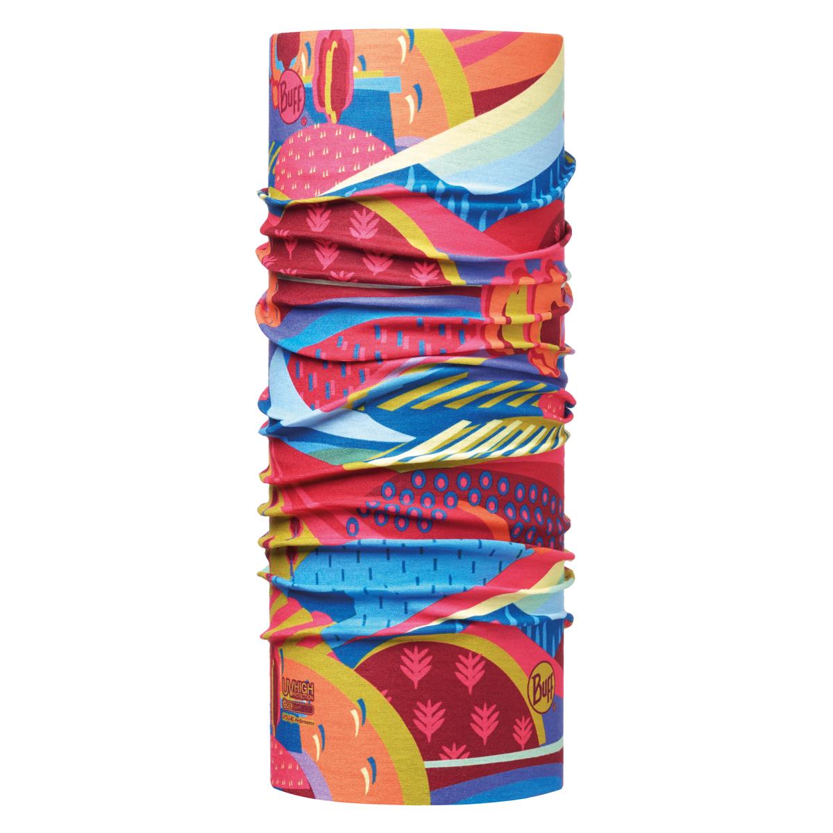 دستمال سر و گردن باف مدل COLOURFUL MOUNTAINS MULTI 115080-555-10