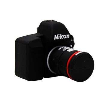 فلش مموری طرح دوربین عکاسی نیکون مدل Ul-CN02 ظرفیت 64 گیگابایت