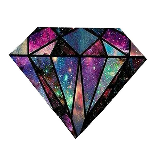 استیکر لپ تاپ طرح الماس کد 26
