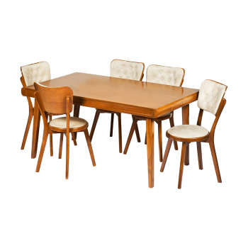 میز و صندلی ناهار خوری مدل فاما کد 085