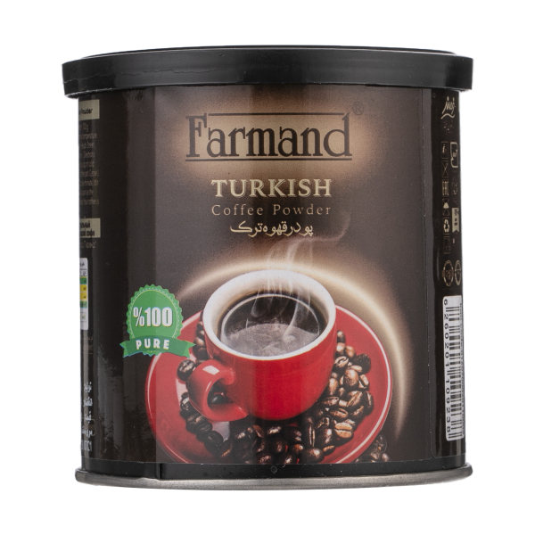 پودر قهوه ترک فرمند مقدار 100 گرم
