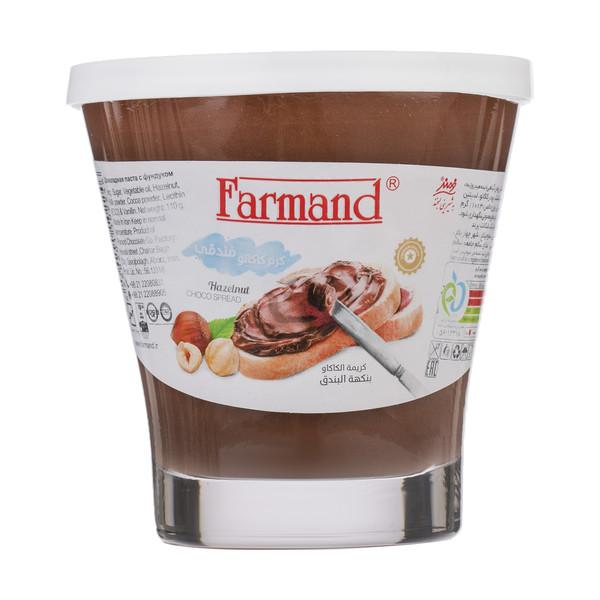 کرم کاکائو فندقی فرمند مقدار 110 گرم